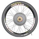 26インチ 48V 1500Wモーター電動リアホイールバイクキット フィーセット用電動自転車変換キット