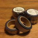 金箔のマスキングテープ(2本組)