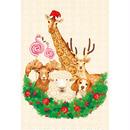 POSTCARD 「おかしなどうぶつたちのクリスマス」