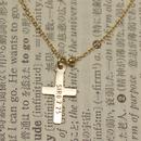 好きな文字を刻印できるクロスブレスレット(jdkbcr)
