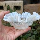 品番 g-0645 フリル小鉢 乳白