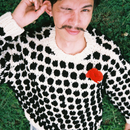 Dots knit  [U-neck  /  V-neck]