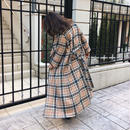 Burberrycheck long gown
