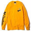 Deviluse Cherry L/S T-Shirts YELLOW