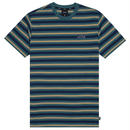 HUF ROCKAWAY S/S KNIT TOP INSIGNIA BLUE