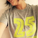 25years around Tシャツ   /    GRAY
