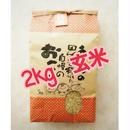 ♯6《お結び米》2キロ 玄米