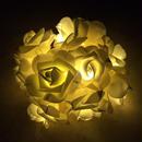 薔薇のLEDライト ホワイト