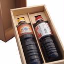 【ギフト】特選醤油セット 濃口醤油・だし醤油(各1000ml)【箱代含む】