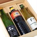 【ギフト】特選醤油地酒セット 濃口醤油(1000ml)富久錦特別純米(720ml)【箱代含む】