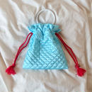 Quilting Purse Bag    Blue -受注生産-