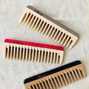 kostkamm /wood   hair comb / 14cm/ コストカム/木製櫛/14cm