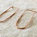 cinq / Frame  earring / 14k  rose gold filled / シンク / ローズ ゴールド