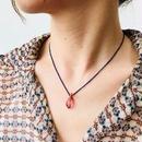 ishi jewelry / lapis lazuli beads chain with turmaline necklace / イシ ジュエリー/ トルマリン X ラピスラズリネックレス