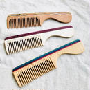 kostkamm /wood   hair comb / 19cm/ コストカム/木製櫛/19cm