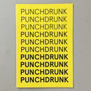 """Willem Purdy """"PUNCHDRUNK"""""""