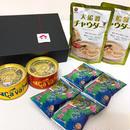 【カメリアセレクト】海からの贈り物セット:ふわとろめかぶスープ・大船渡チャウダー・サヴァ缶