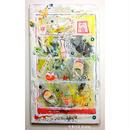 ST022玄関に 靴箱の絵「ケタパコ」左藤芳美