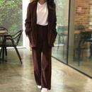 【予約アイテム】corduroy jacket&pants setup