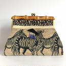 Bamboo Clutch Bag / 2054