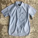 BRIXTON CENTRAL S/S SHIRTS LIGHT BLUE CHAMBRAY  半袖 シャツ