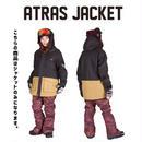 【中古品】SCAPE ATRAS JACKET PHYTON BLACK / Mサイズ  ウィメンズ 女性用 ウェアー スノーボード エスケープ