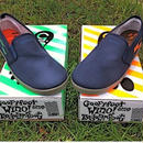 """""""Hang 5 Shoes""""    Navy  (Limited edition)  with limited box"""