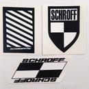SCHROFF DECALS  (1 SET/3枚入り)