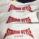 STRONG STYLE printed マフラータオル