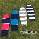 SURFER'S サーフボード ボーダー フェイスタオル