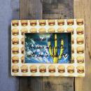 full handmade frame 'humberger''