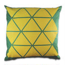TRIANGLE PRINT CUSHION COVER