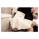 【スカート 無地】ミニスカート/スカート ミニ/スカート フレア/スカート Aライン/スカート ショート丈/ミニスカート フレア/フリーサイズ/3色 送料無料