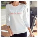 【トレーナー レディース】トレーナー レディース tシャツ 長袖 カットソー 無地 白 大きいサイズ コットン 綿 S,M,L,XL,2XL 送料無料