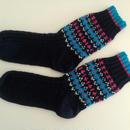 手編みの靴下(リアルトラッドA)