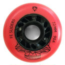 FLYING EAGLE Sliders Red ウィール 90A 72mm/76mm/80mm 1個