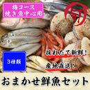 鮮魚セット 梅コース(焼き魚中心用)