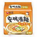 農心 安城湯麺 125g マルチパック(5個入り)