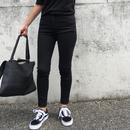 skinny denim《black》