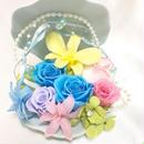 【プリザーブドフラワー/貝殻の中に咲く魔法の花たち】【専用フラワーケースリボンラッピング付き】