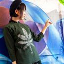 HIGH DARKGREEN  - 7分袖丈Tシャツ -