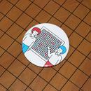 マグネット 囲碁 青と赤バージョン