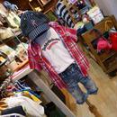 Daddy Oh Daddy / ダディオーダディ マドラスチェック半袖シャツ 羽織りにも♪