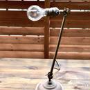 ビンテージ  インダストリアル アイアン テーブルランプ