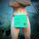 """ふんどし【緑の大地】 """"Green Earth"""" 忍褌×Samurai Underwear (素材:麻亜麻/LinenHemp)"""