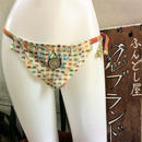ふんどし女子【くノ一 カラフルドビー綿】忍ブランド×八十島幸房コラボShiNoBi Samurai Underwear Kunoichi Colorful Dobby Cotton