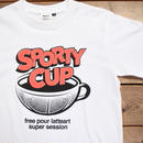 【SPORTY COFFEE】SPORTY CUP TEE 2017 WHITE