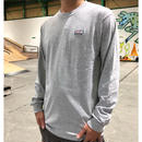 Stripe Arch L/S T-shirts   ( HEATHER GREY) SH181513GRY