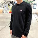 Stripe Arch L/S T-shirts   ( BLACK) SH181513BLK