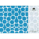 MINOK63 Printed envelope S Aqua Green